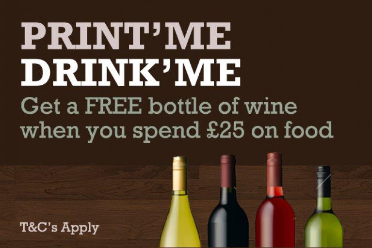 Print Me, Drink Me